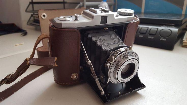 Vintage Zeiss Ikon Nettar Folding Camera In Case | eBay