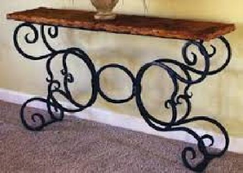 Iron Console Table Symbolize the Modern Fashion of Furniture