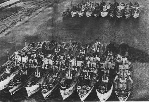 d day ships allied invasion fleet