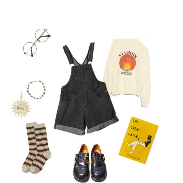 St. Croix by sungoessdown on Polyvore featuring polyvore, fashion, style, Dr. Martens, Rembrandt Charms, ZeroUV and clothing