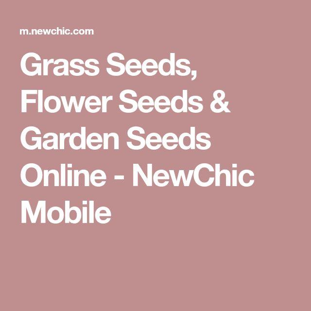 Grass Seeds, Flower Seeds & Garden Seeds Online - NewChic Mobile