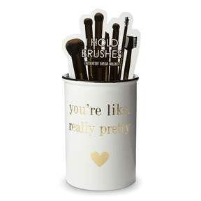 beauty  posh  pop  makeup brush holders youre like