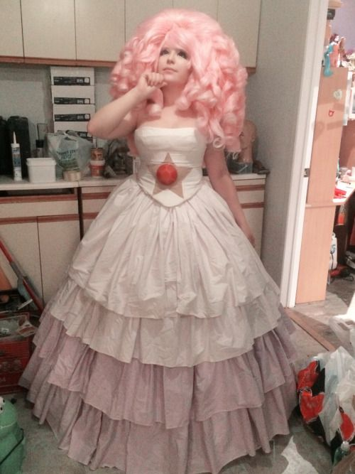 rose quartz cosplay - Google Search