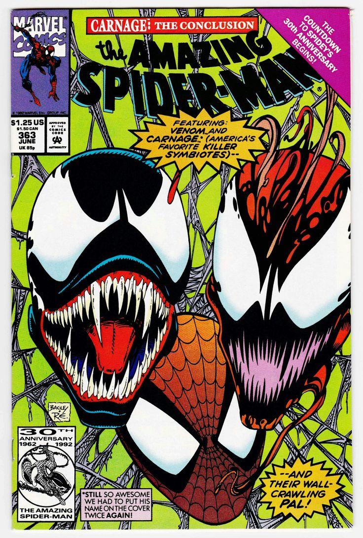 Venom, Carnage & Spider-Man Marvel