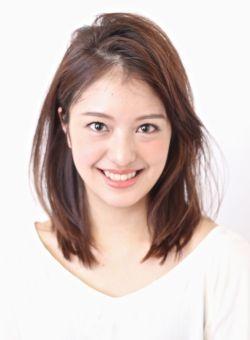 ☆中村アン風「大人の前髪かきあげヘアー」/BEAUTRIUM GINZAの髪型・ヘアスタイルカタログ