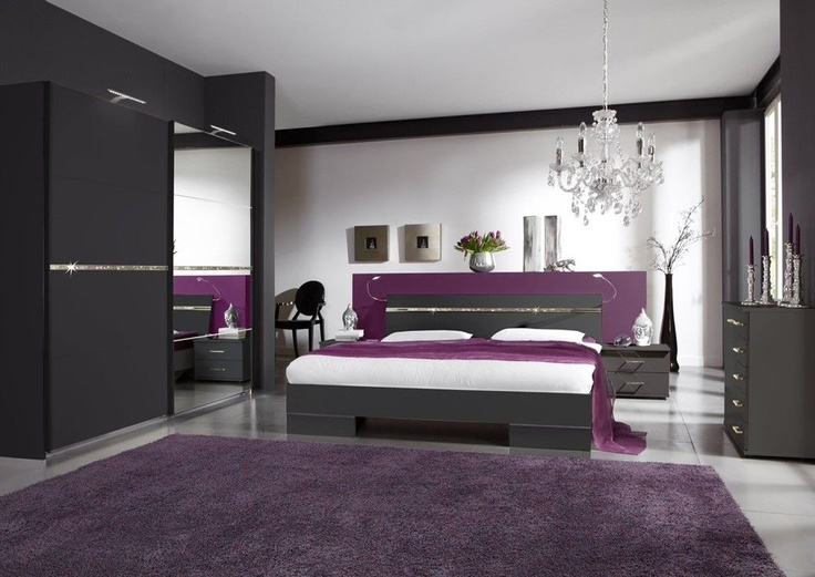 10 best Bedroom sets images on Pinterest Bedroom suites - schlafzimmer set modern