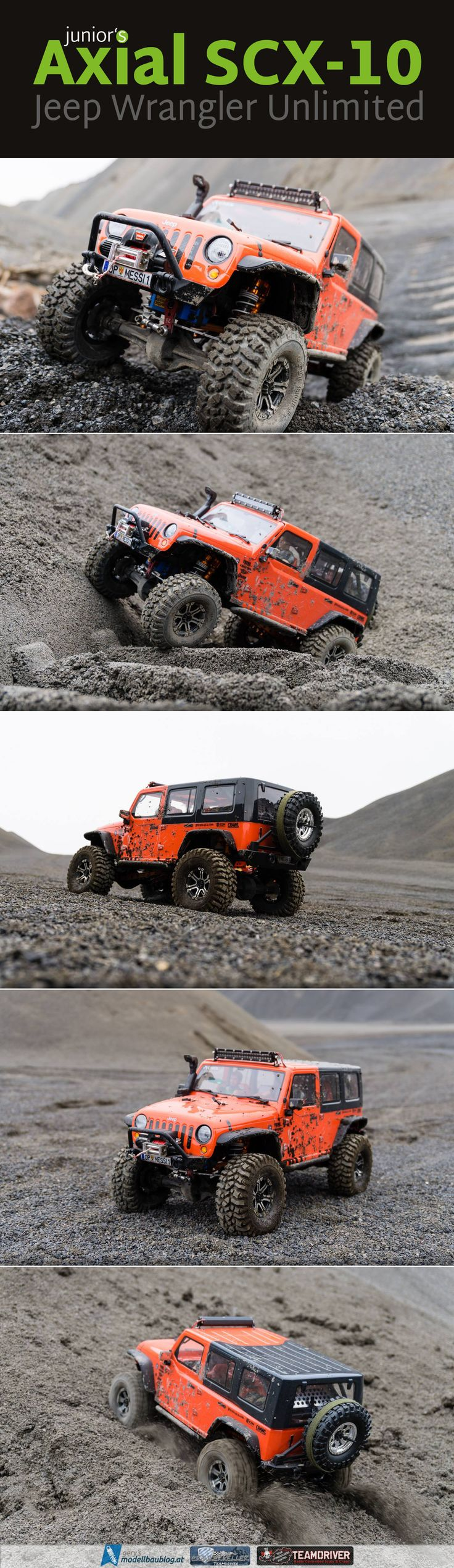 "Junior's Axial SCX-10 ""Jeep Wrangler Unlimited Rubicon"" @axialrc #scx10 #offroad…"