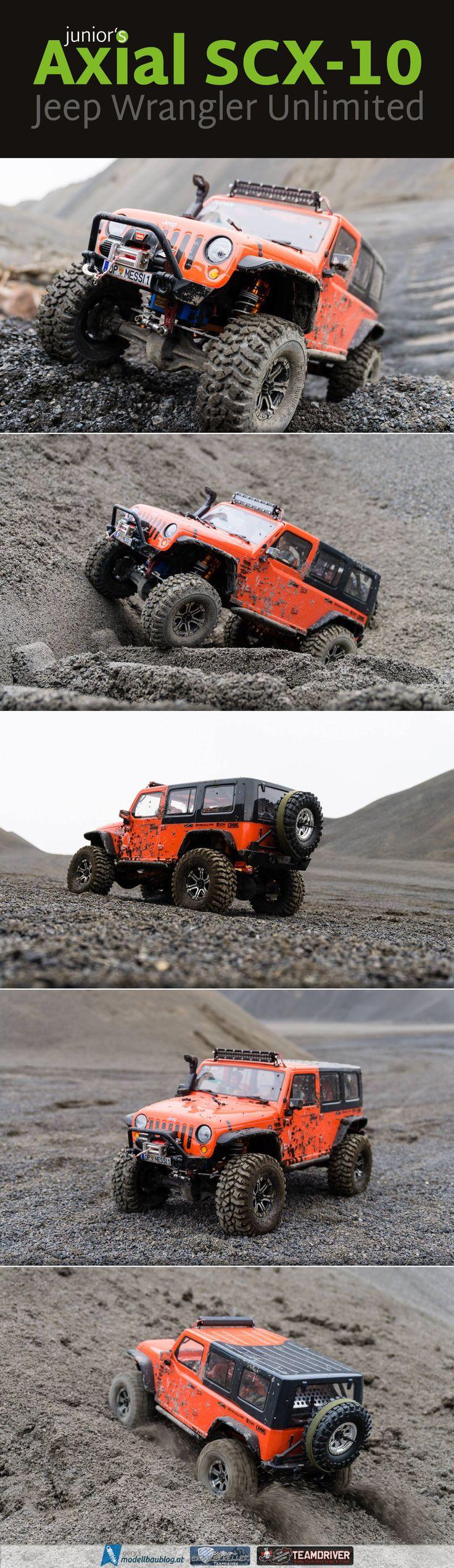 """Junior's Axial SCX-10 """"Jeep Wrangler Unlimited Rubicon"""" @axialrc #scx10 #offroad #jeep #wrangler"""