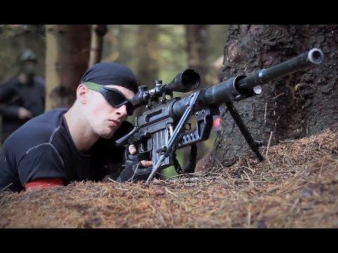 ▶ AIRSOFT SNIPERS CHEYTAC Intervention M200. L96, DRAGUNOV svd - YouTube