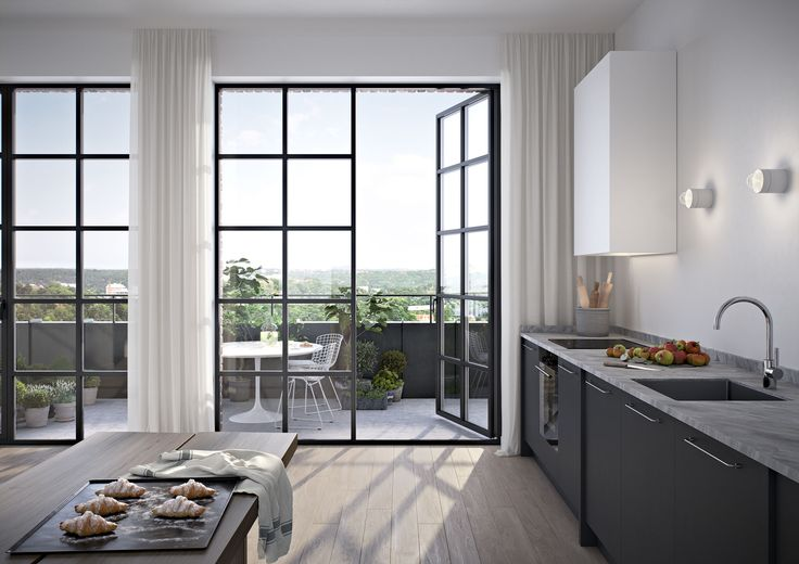 Oscar Properties #oscarproperties  Kvarnholmen, Bageriet, kitchen, window, view