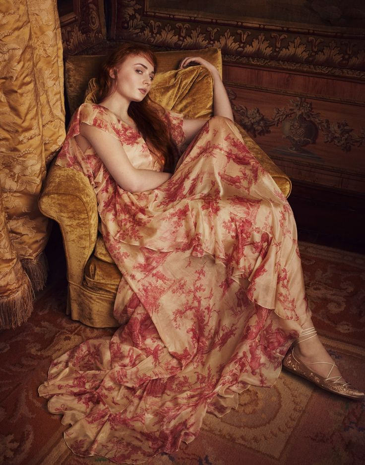 Sophie Turner in Philosophy di Lorenzo Serafini photographed by Dima Hohlov for The Edit magazine, April, 2016.