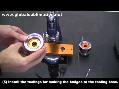 badge machine button making machine globalsublimation. Black Bedroom Furniture Sets. Home Design Ideas