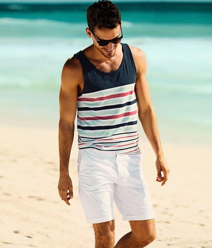 +20 ideas de outfits de hombre para la playa #outfits #hombre #hombres #chicos…