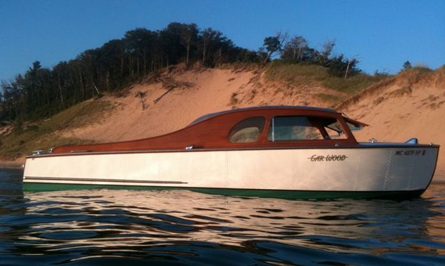 """Tin Can"" Metal Decked Cabin Cruiser !~"