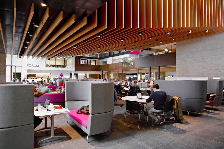 John Henry Brookes Building, Oxford Brookes University / Broadstock furnishings