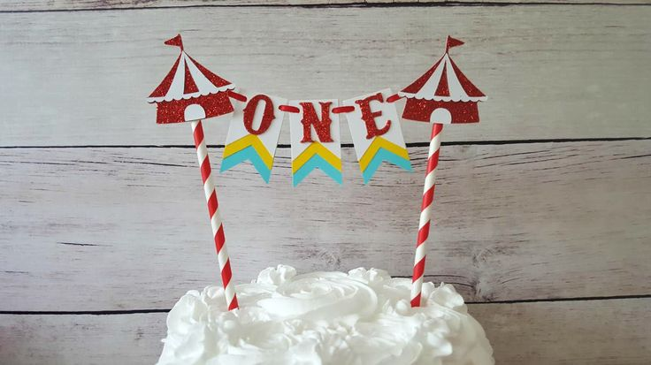 Circus First Birthday Topper Circus Cake Bunting Circus Cake Topper Circus Smash Cake Age Cake Topper Circus Party Decor Circus Bunting by TickledGlitzy on Etsy https://www.etsy.com/listing/508155672/circus-first-birthday-topper-circus-cake