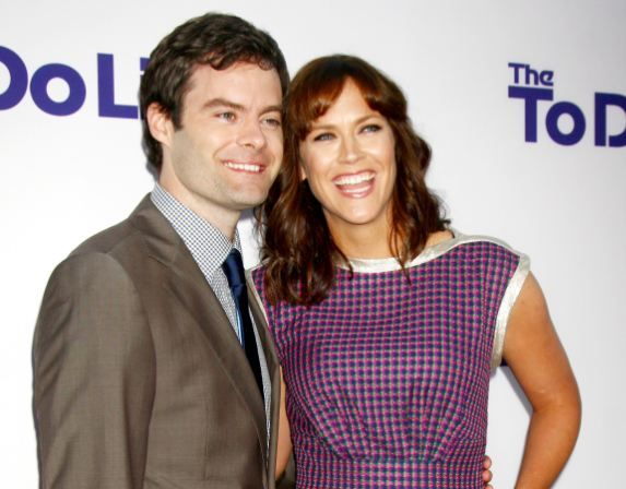 Click here for Bill Hader adorably discussing his marriage!