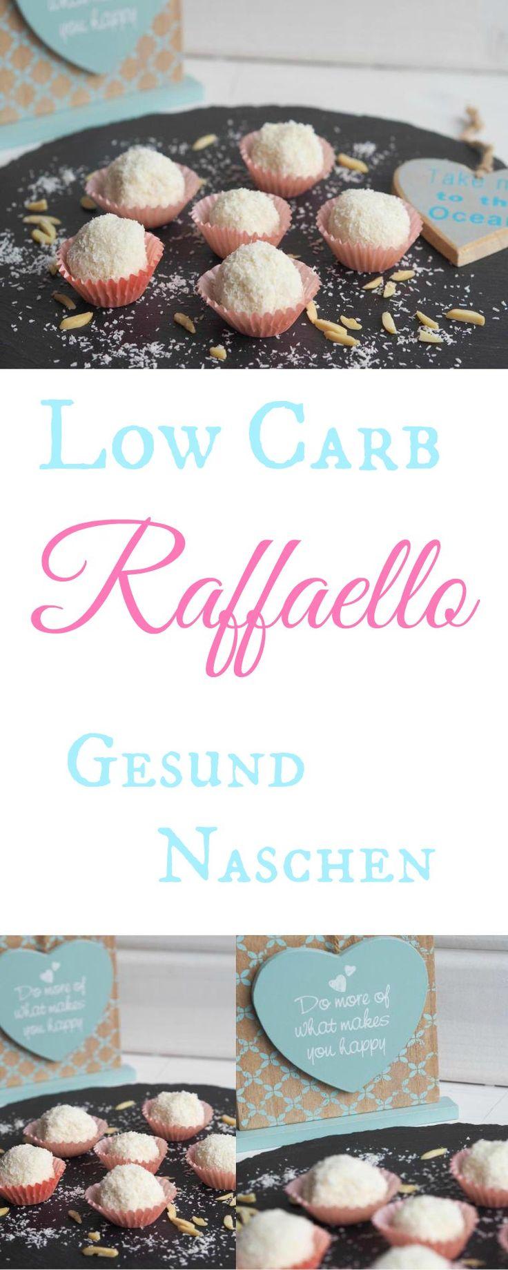 Selbstgemachtes Low-Carb Raffaello. So lecker und so einfach herzustellen. Im Mixer oder im Thermomix. Die Konsistenz ist natürlich etwas weicher als richtige Raffaellos, da Knusperschicht um die Füll (Best Food Healthy)