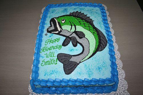 Bass Fishing Cake | Flickr - Photo Sharing!
