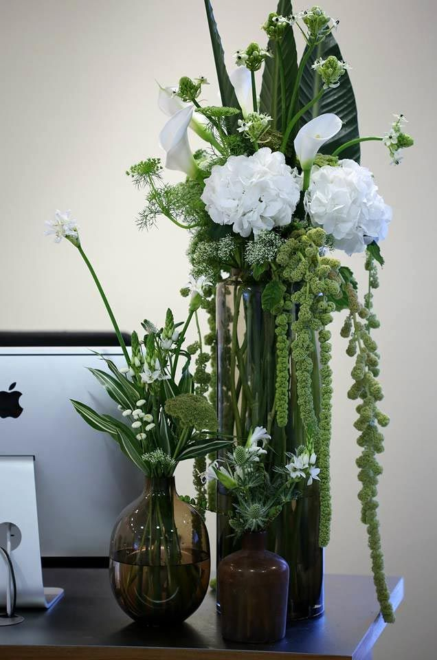 Stunning Corporate Flower Decorations By London Florist