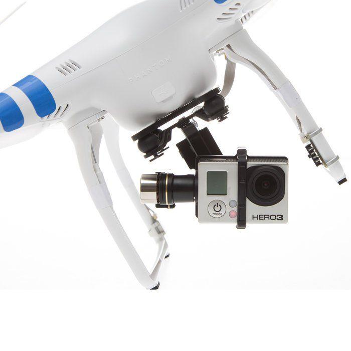 Fancy - DJI Phantom 2 Drone Quadcopter and H3-3D