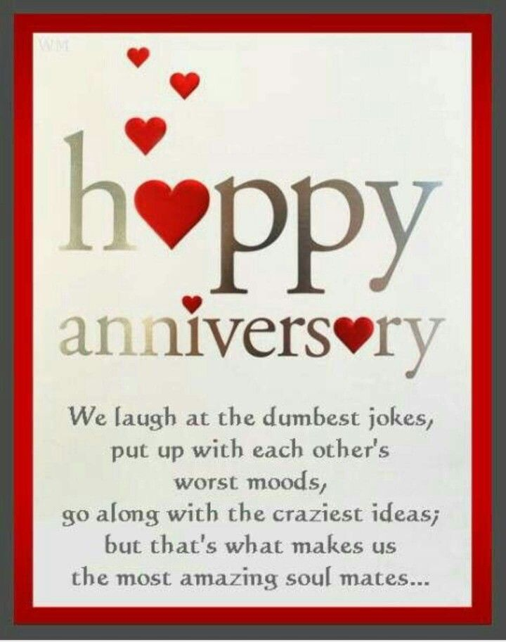 Happy Anniversary!