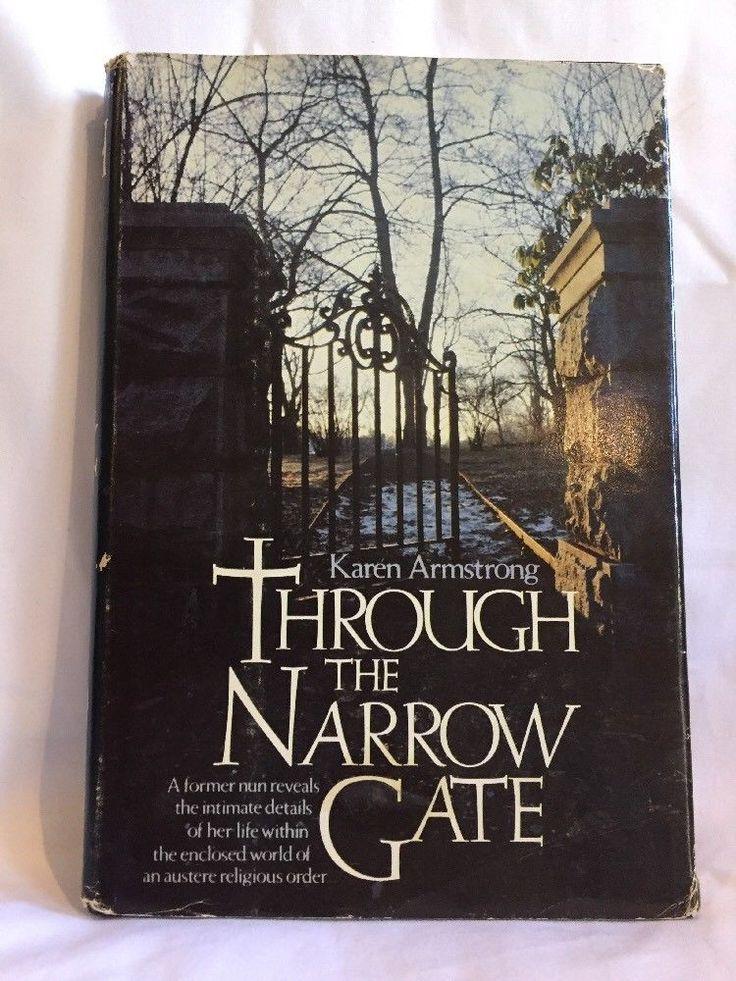 Through The Narrow Gate Karen Armstrong Hardcover 1981 | eBay