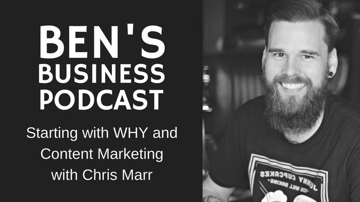 Interview with Chris Marr, Start With Why, Quotes & Content Marketing - ...