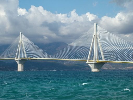 Visit Greece | Rio Antirio Bridge, Peloponnese