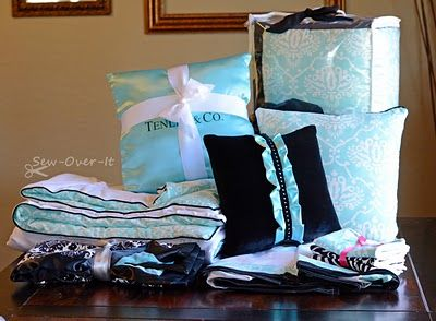 Sew Over It: Tiffany U0026 Co. Inspired   Crib Bedding Set