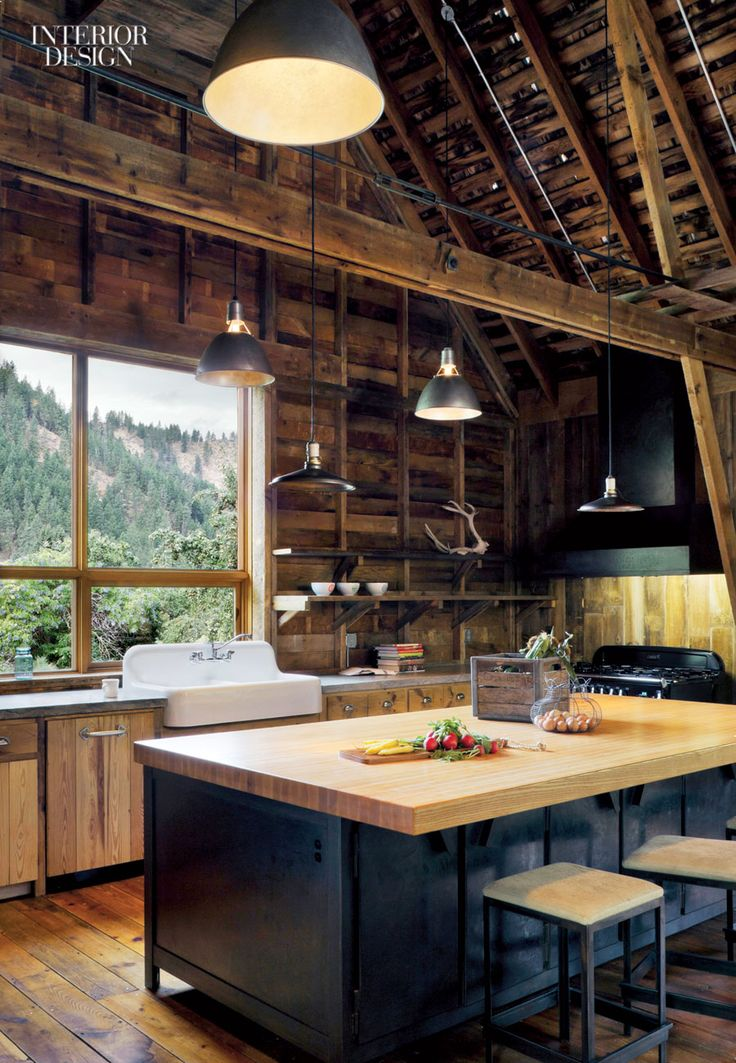 Interior Design Magazine A Washington State Barn Conversion By MW Works Architecture And Nelleen Berlin Features This Rustic