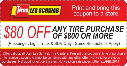 Discount tire service coupons
