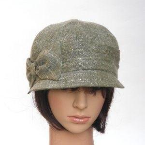 LOW-RIDER - sage cotton/rayon summer tweed - Rosehip Hat Studio