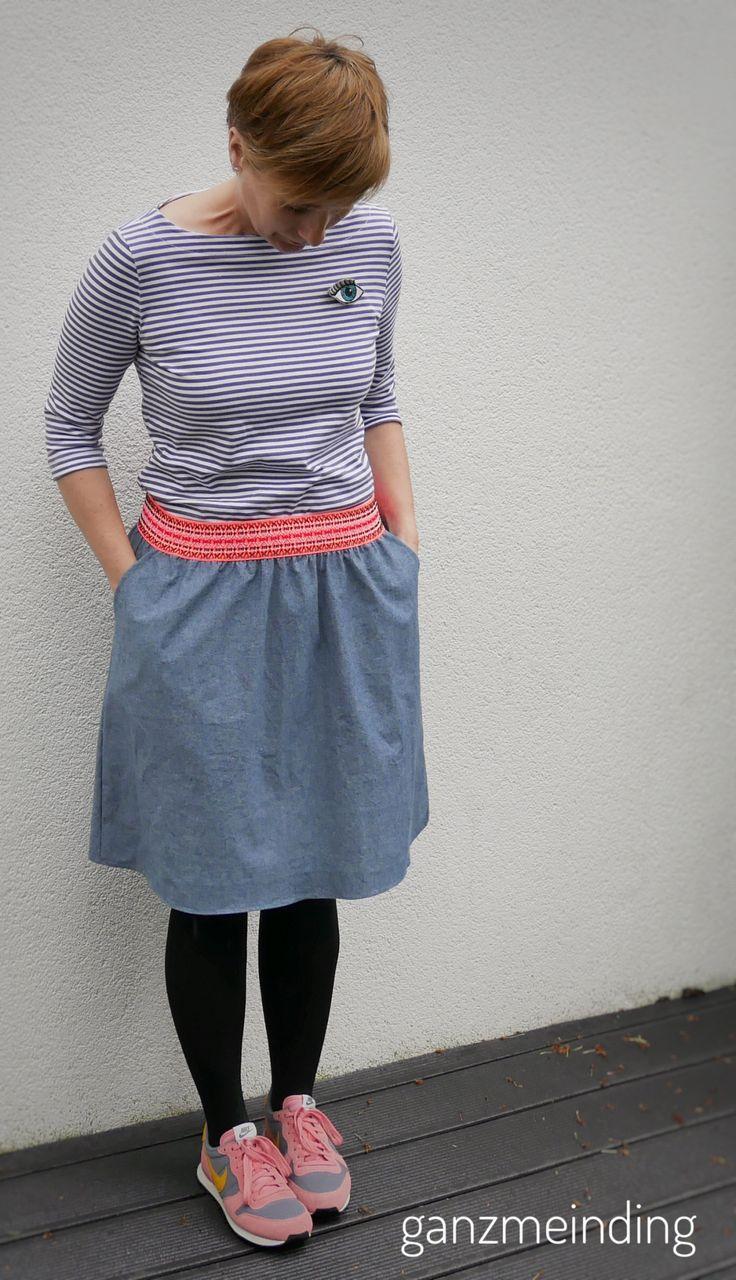 44 besten Röcke nähen Bilder auf Pinterest   Nähideen, Schnittmuster ...
