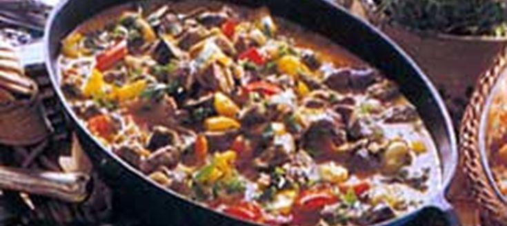 Ratatouille med lamm