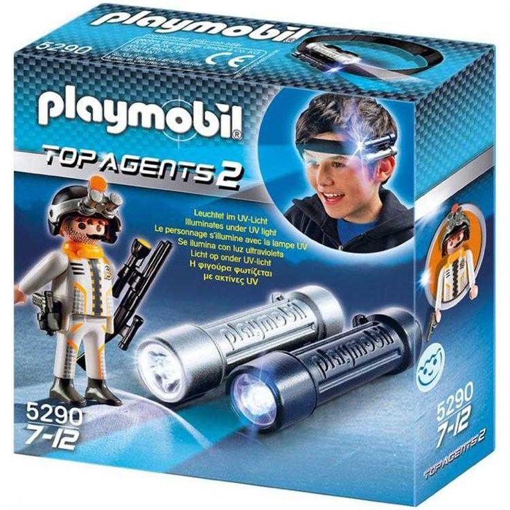 Playmobil Top Agents 2 Işıklı Casus Ajan Oyun Seti 5290