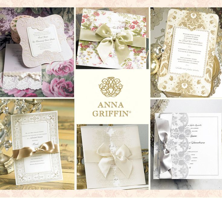 56 best Anna Griffin images on Pinterest | Bridal invitations ...