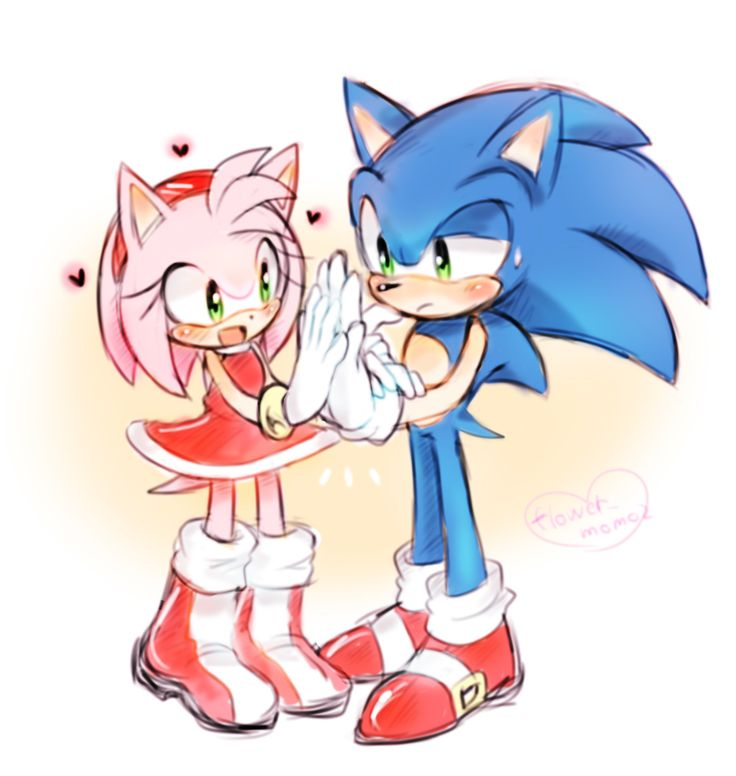 Amy and sonic sex