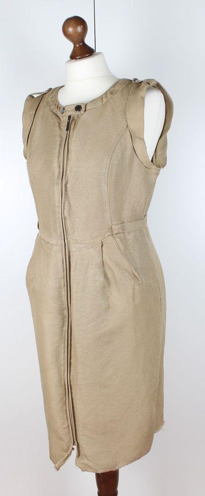 Brown Sleeveless Dresses