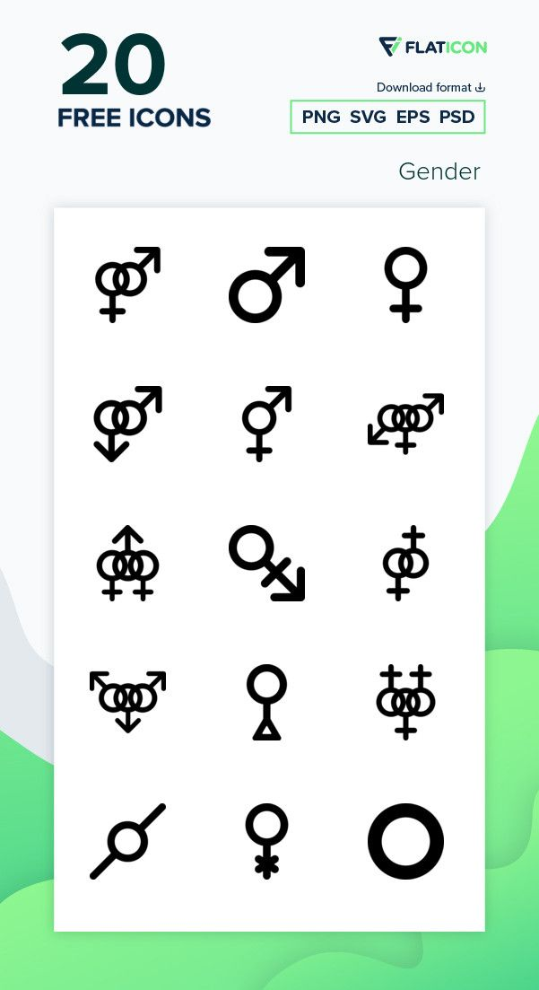20 Free Vector Icons Of Gender Designed By Freepik Free Icon Packs Icon Free Icons Png