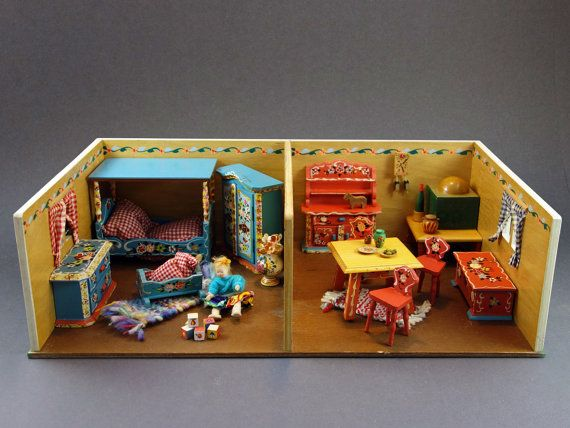 Doll House In Room