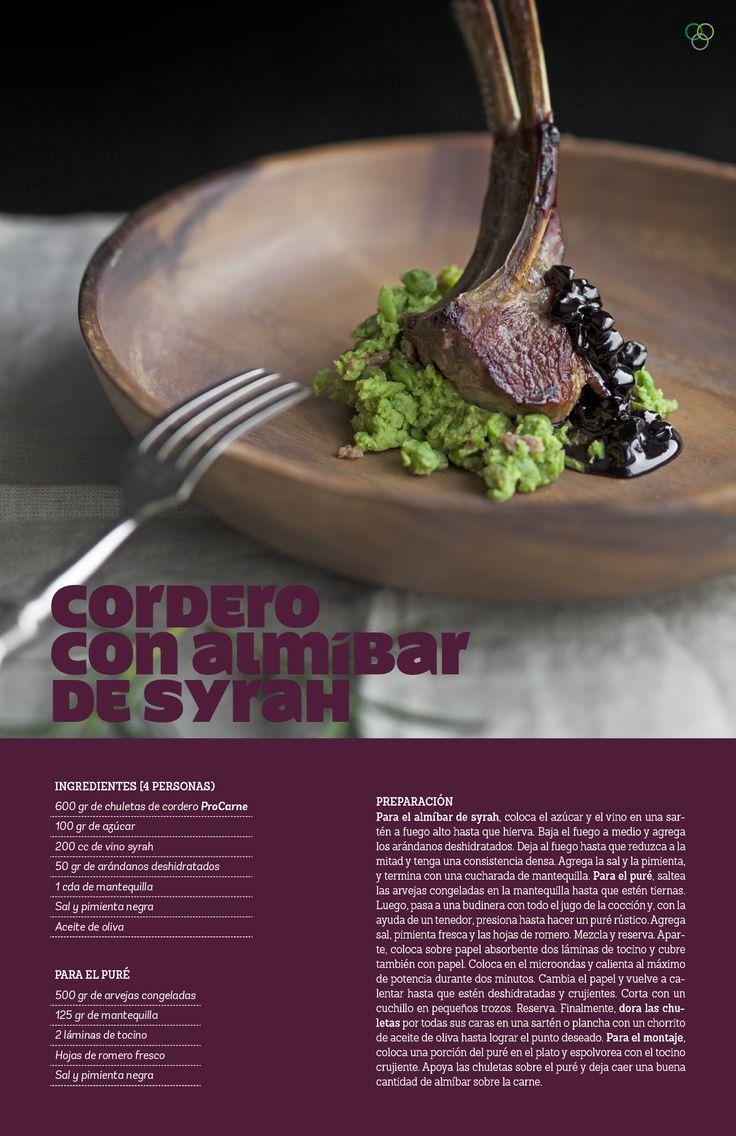 Cordero con almíbar de syrah / IMG Araceli Paz #cordero #syrah