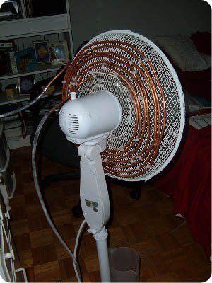 Klimaanlage selber bauen aus einem Ventilator – Low Budget Idee – Klimaanlage selbst gemacht