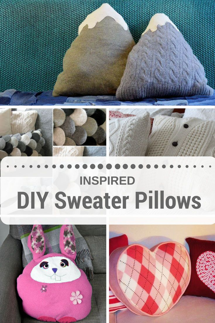 Best mom cushion cover valentineblog net - It S So Easy To Upcycle Sweaters Into An Amazing Sweater Pillow These Are My Favourite