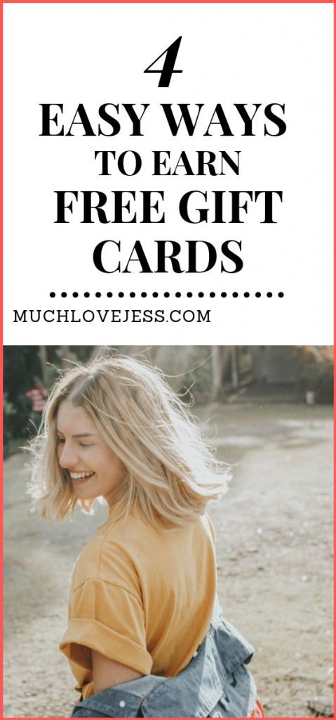 4 Easy (And 100% Legit) Ways To Get Free Gift Cards