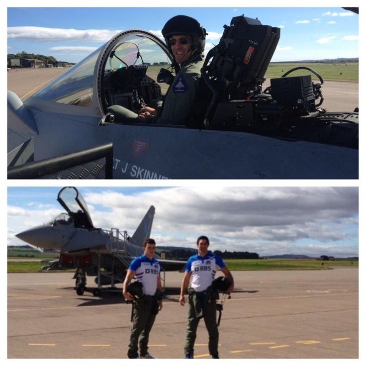 New Scotland rugby top launched at RAF Leuchars