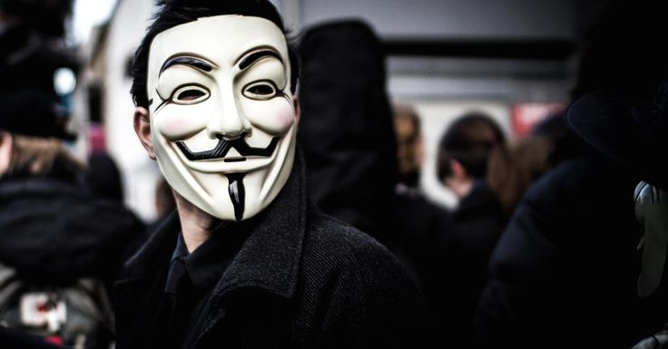 Anonymous was at the forefront of the push to wear the Guy Fawkes mask as an anti-capitalist statement, but the mask's history goes back to the 1980s.