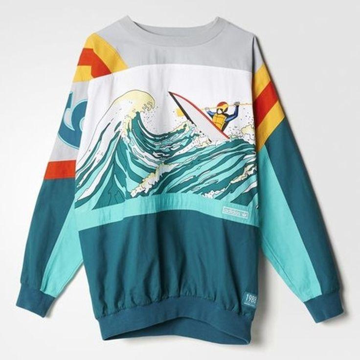 Adidas Vintage 80s Adidas Devils Toe Nail Sweatshirt Size M $300 - Grailed
