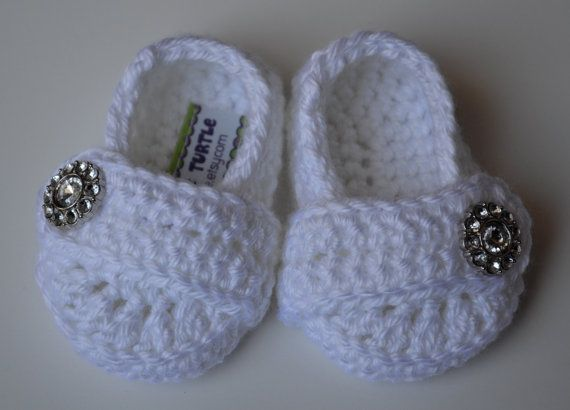 Baby Infant Girl Shoes Crochet Baby Shoes