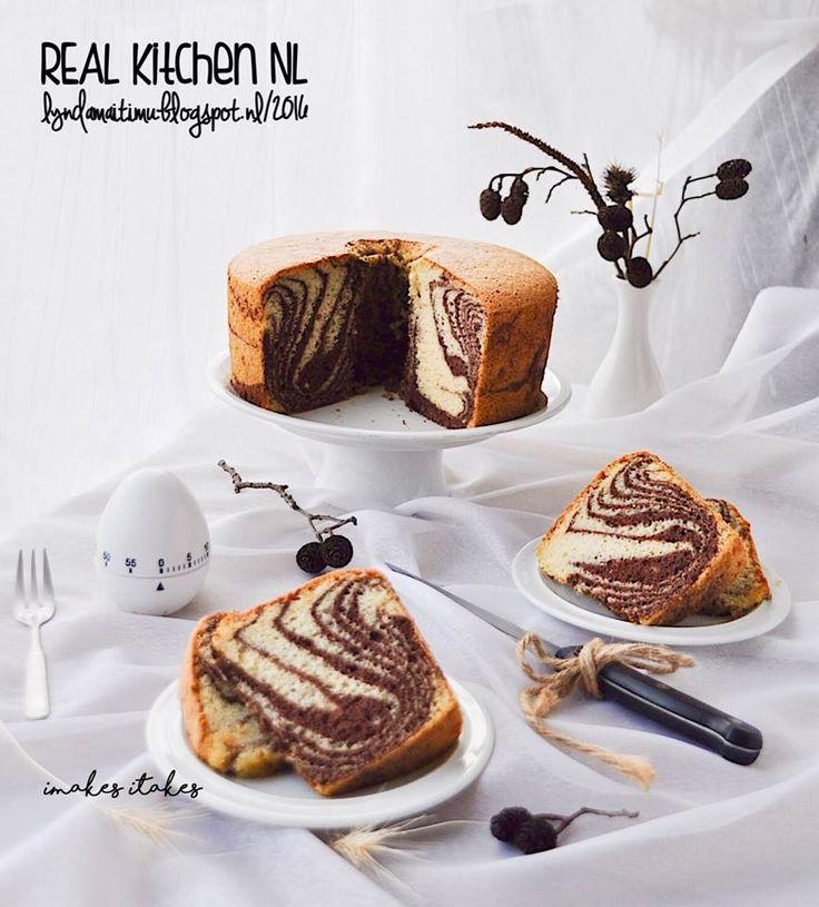 CHIFFON ZEBRA CAKE (Chiffon Cake 77 LMT )